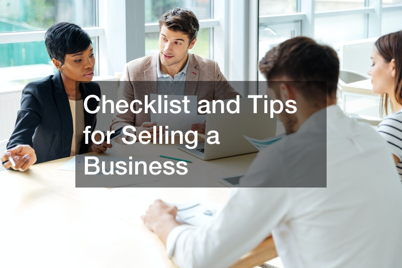 Checklist and Tips for Selling a Business